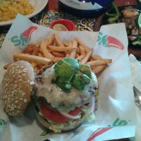 Photo taken at Chili's Plaza Pabellón by Ruffus D. on 9/23/2011