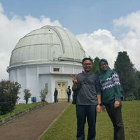 Photo taken at Observatorium Bosscha by dr. Robin P. on 3/9/2016