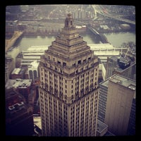 Photo taken at U.S. Steel Tower by Ted W. on 12/7/2012