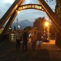 Photo taken at Gua Maria Kerep by Arnold W. on 5/29/2013