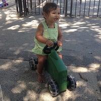 Photo taken at Bleecker Playground by Anna M. on 8/25/2014