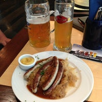 Photo taken at Airbräu Brauhaus by Natalia M. on 6/23/2013