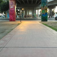 Photo taken at Chicano Park by Leena A. on 3/3/2016