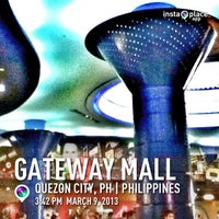 Photo taken at Gateway Mall by Christoffer King P. on 3/9/2013