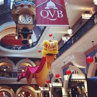 Photo taken at QVB Bar Cafe by Alexandra K. on 2/16/2013