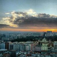 Photo taken at Sheraton Lisboa Hotel & Spa by Nuno G. on 1/7/2013