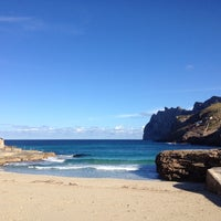 Photo taken at Cala Molins by InmyshoesTravel .. on 12/30/2013