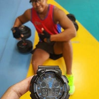 Photo taken at Jurong West ActiveSg Gym by M Farhan R. on 8/3/2016