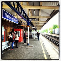 Photo taken at Walton-on-Thames Railway Station (WAL) by Sujan O. on 5/19/2013