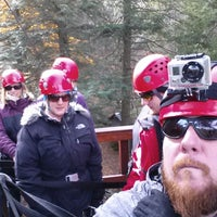 Photo taken at Hunter Mountain Zip Line by Dave C. on 10/26/2013