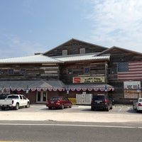Photo taken at Flora-Bama Lounge, Package, and Oyster Bar by Bret D. on 9/1/2013