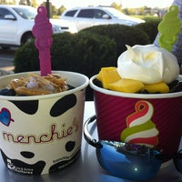 Photo taken at Menchies by Jen C. on 8/11/2013