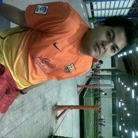 Photo taken at Resinda futsal sport club by ekha N. on 12/22/2012