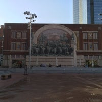 Photo taken at Sundance Square by Urs K. on 8/21/2014