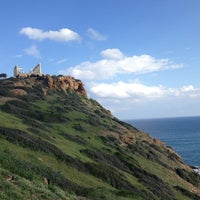 Photo taken at Cape Sounion by Themis G. on 3/16/2013