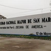 Photo taken at Universidad Nacional Mayor de San Marcos - UNMSM by Fernando N. on 8/1/2013