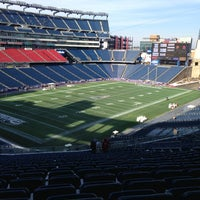 Photo taken at Gillette Stadium by Brian K. on 1/17/2013