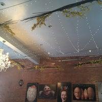 Photo taken at Domku Bar & Cafe by Veena S. on 10/17/2015