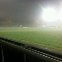 Photo taken at Trafford FC by Manc R. on 12/18/2012