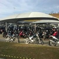 Photo taken at Estacionamento Coberto by Diego M. on 12/14/2012