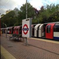 Photo taken at North Acton London Underground Station by Alex V. on 5/8/2013