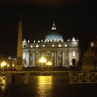 Photo taken at Saint Peter's Square by Dorothy G. on 5/12/2013