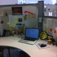 Photo taken at Wunderman México by Andrea G. on 1/21/2013