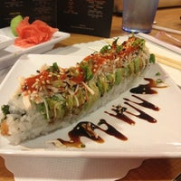 Photo taken at Sushi Time by Angie W. on 5/15/2013