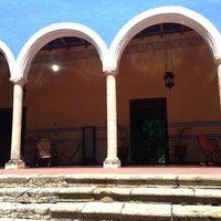 Photo taken at Hacienda Santa Rosa, a Luxury Collection Hotel, Santa Rosa by Cristina S. on 2/21/2014