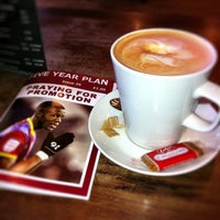 Photo taken at Manhattan Coffee House by Tristan H. on 2/21/2013