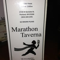 Photo taken at Marathon Taverna by Shannon V. on 2/11/2013