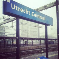 Photo taken at Station Utrecht Centraal by Rutger F. on 3/29/2013