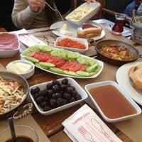 Photo taken at Şarköy Çiftlik Şarküteri & Kahvaltı by Özgür Ş. on 12/16/2012