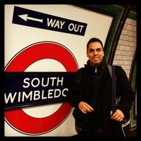 Photo taken at South Wimbledon London Underground Station by Eduardo B. on 3/25/2013