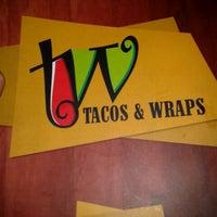 Photo taken at Tacos & Wraps by Gabriel L. on 1/31/2013