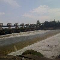Photo taken at Bendung Gerak Mrican by Ngab_Ngib_Ngeb on 6/16/2013