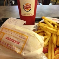 Photo taken at BURGER KING by Aifer A. on 3/14/2013