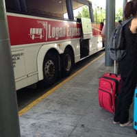 Photo taken at Logan Express by Scott B. on 7/27/2013