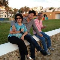 Photo taken at Aparthotel Tirant Playa by Sanguansak P. on 6/19/2013