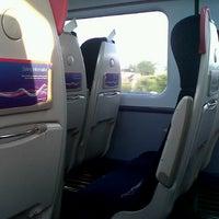 Photo taken at Swansea (SWA) to Paddington (PAD) Train by Debs M. on 7/13/2013