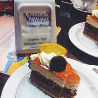 Photo taken at Eiscafé Venezia by Elif . on 10/27/2014