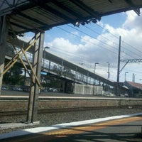 Photo taken at Ringwood Station by Rasmus F. on 1/28/2013