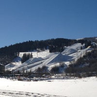 Photo taken at Buttermilk Mountain by Max M. on 1/18/2013