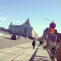 Photo taken at Sankt Eriksbron by Mimmi H. on 5/7/2013