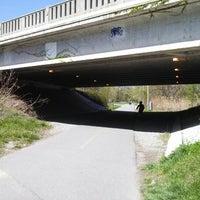 Photo taken at Minuteman Commuter Bikeway by A.P. Blake on 5/4/2013