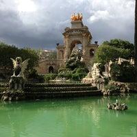 Photo taken at Parc de la Ciutadella by Maiju H. on 6/4/2013