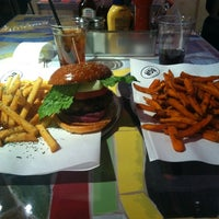 Photo taken at BGR - The Burger Joint by Mike P. on 11/29/2012