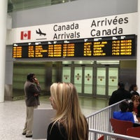 Photo taken at Toronto Pearson International Airport (YYZ) by Sreekar R. on 4/12/2013