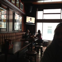 Photo taken at Mahogany Sports & Burger Bar by Dave B. on 2/2/2013