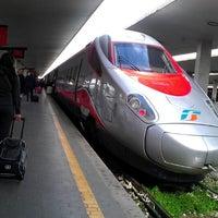 Photo taken at Firenze Santa Maria Novella Railway Station (ZMS) by Ashish S. on 3/12/2013